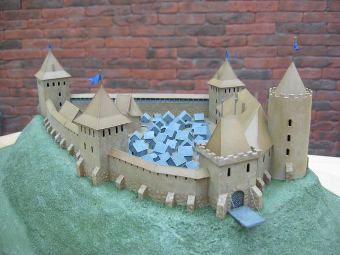 Замок своими руками построить 3